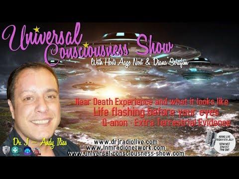 Universal Consciousness Show Special Guest Dr. J- Andy Ilias  7-6-18