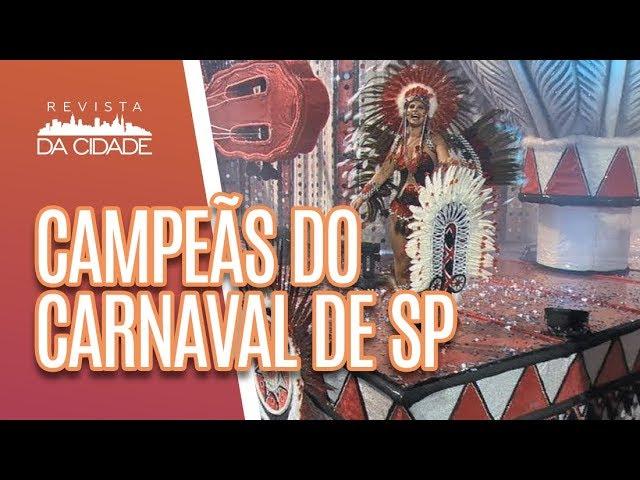 Lista do Revista: Conheça as campeãs do Carnaval - Revista da Cidade (04/03/19)
