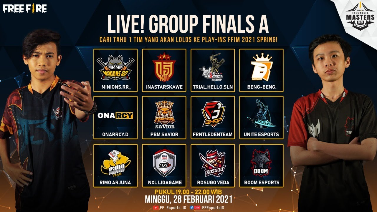 [2021] Free Fire Indonesia Masters 2021 Spring - Group Finals A