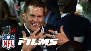 The 2014 Patriots Super Bowl Ring Ceremony | NFL Films Presents