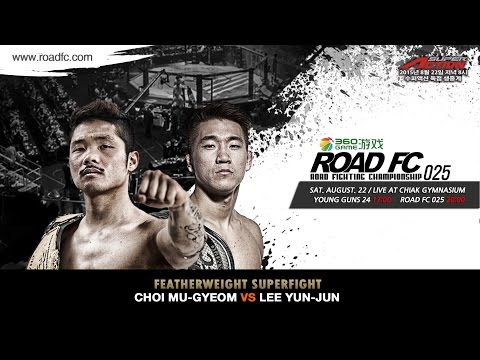 Live stream] ROAD FC 025 Marlon Sandro VS Kim Soo Chul