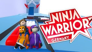 Ninja WARRIOR Deutschland mit Paluten, Zombey & GermanLetsPlay
