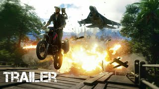 Just Cause 4 Official Trailer E3 Walkthrough - Gameplay