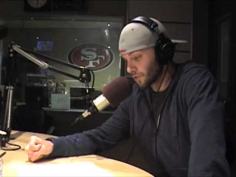 Justin Allen 95.7 The Game on-air debut