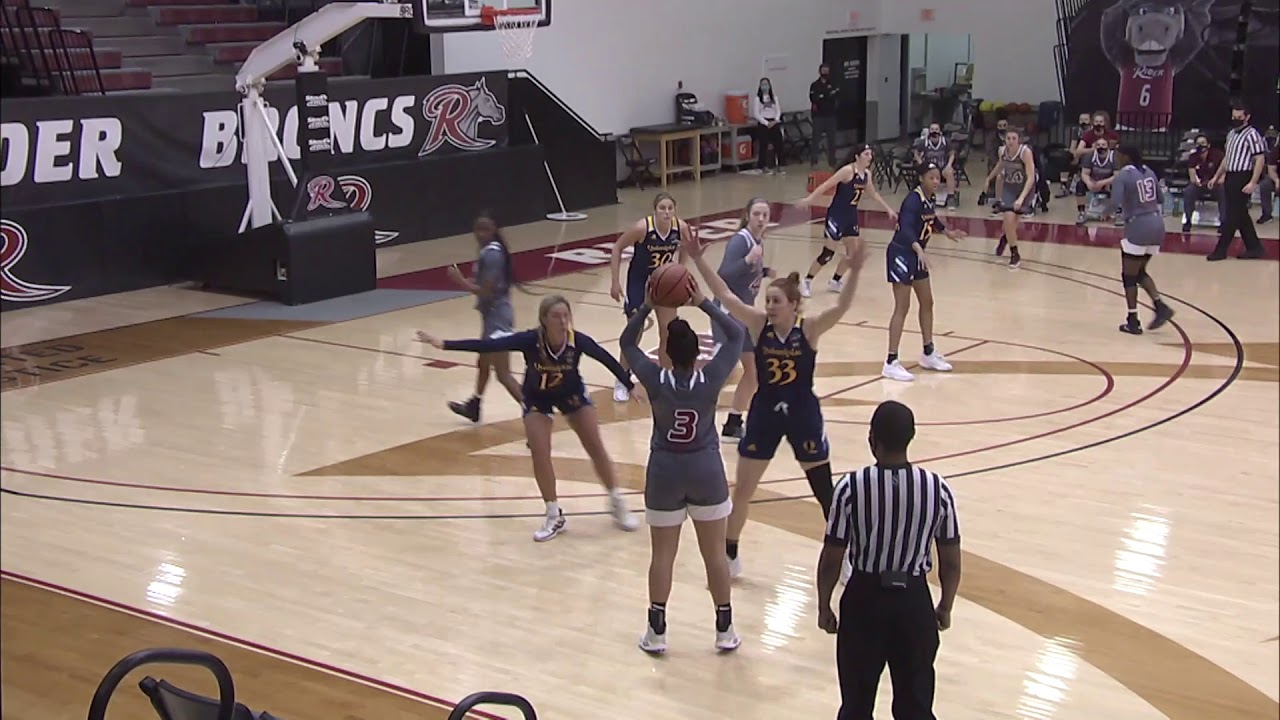 WBB: Rider vs. Quinnipiac Highlights