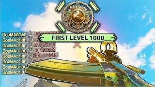 WORLD'S FIRST LEVEL 1000 on PS4! - #1 COD WW2 PLAYER! (Call of Duty: WWII Multiplayer Gameplay)