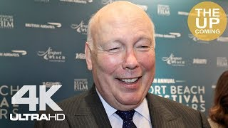 Julian Fellowes On Downton Abbey, BAFTAs, Oscars, The Chaperone At Newport Beach Film Festival