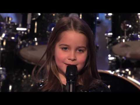 Americas Got Talent  Little girl sings Pingas Song