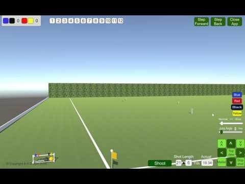 Virtual Golf Croquet Demo by Brookwood Croquet