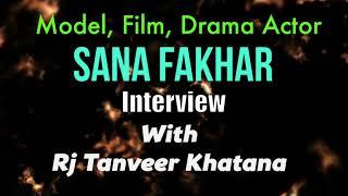 Film Star Sana Fakhar Interview At IPPA Awards