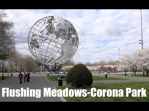 Flushing Meadows-Corona Park in Queens, NY [4K Ultra HD]