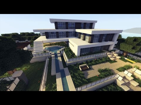 MINECRAFT: How To build A Modern House / Best modern House 2015 ( hd ) Tutorial