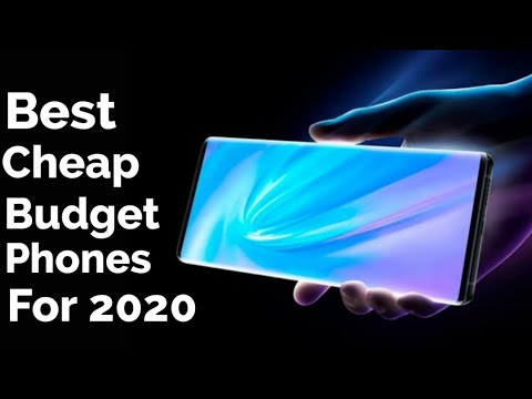 Best Cheap/Budget Phones To Buy For 2020!