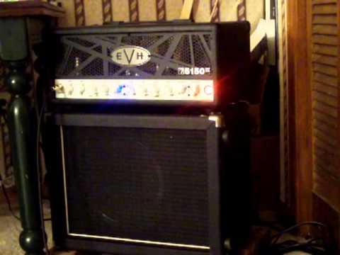 97e285fb224 EVH 5150 III 50 Watt with Sovtek Cab - YouTube