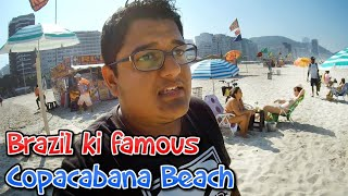 Copacabana Beach Tour | Expenses to Visit Rio? India to Brazil