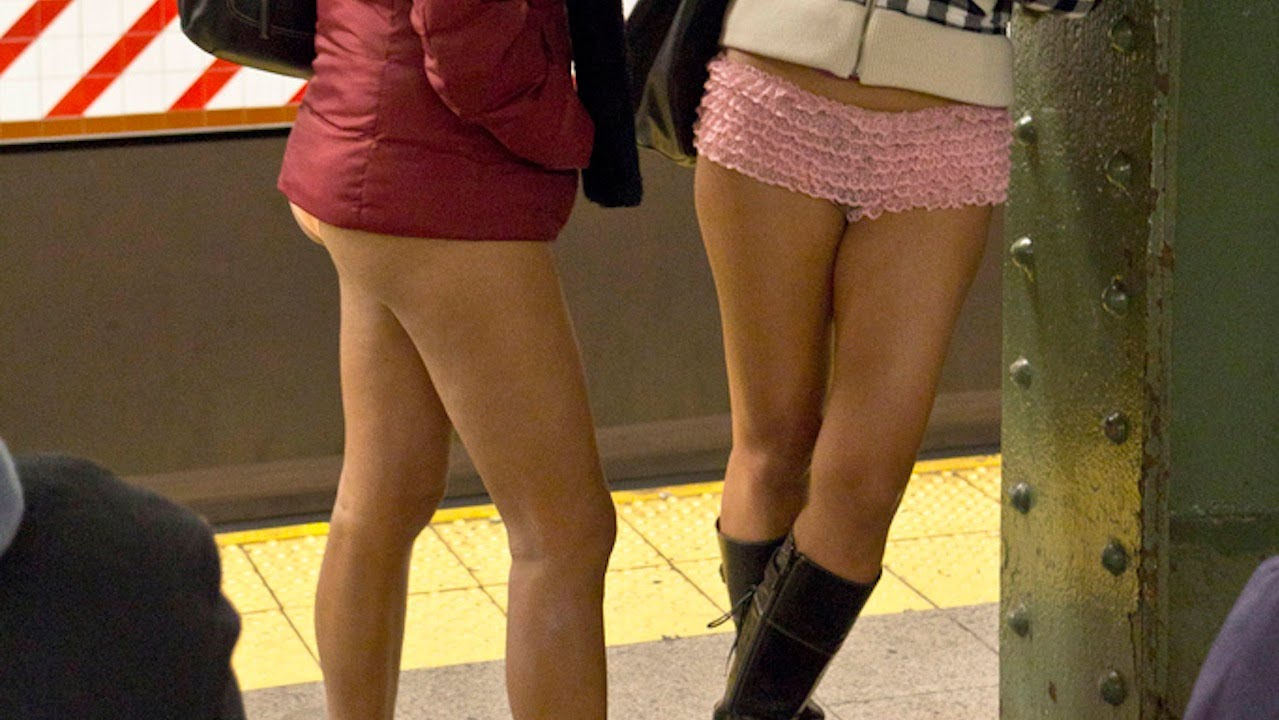 No Pants Subway Ride 2012 Youtube