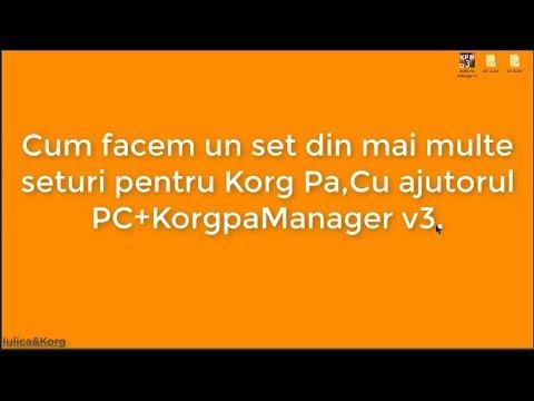 Korg pa manager free