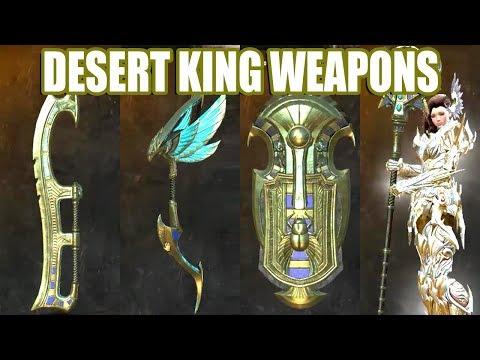 Desert King Weapon Skins ● Guild Wars 2 thumbnail