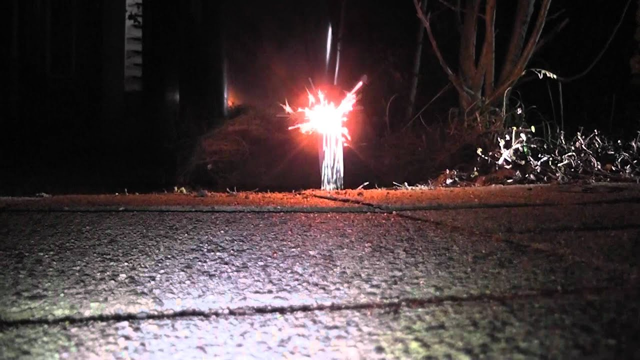 Burning 50 sparklers at once big flame YouTube
