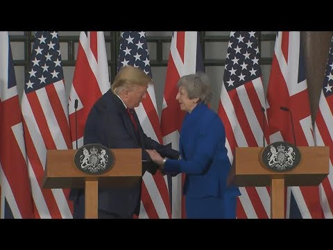 Trump, UK PM May hold joint news conference -Special Report| ABC News