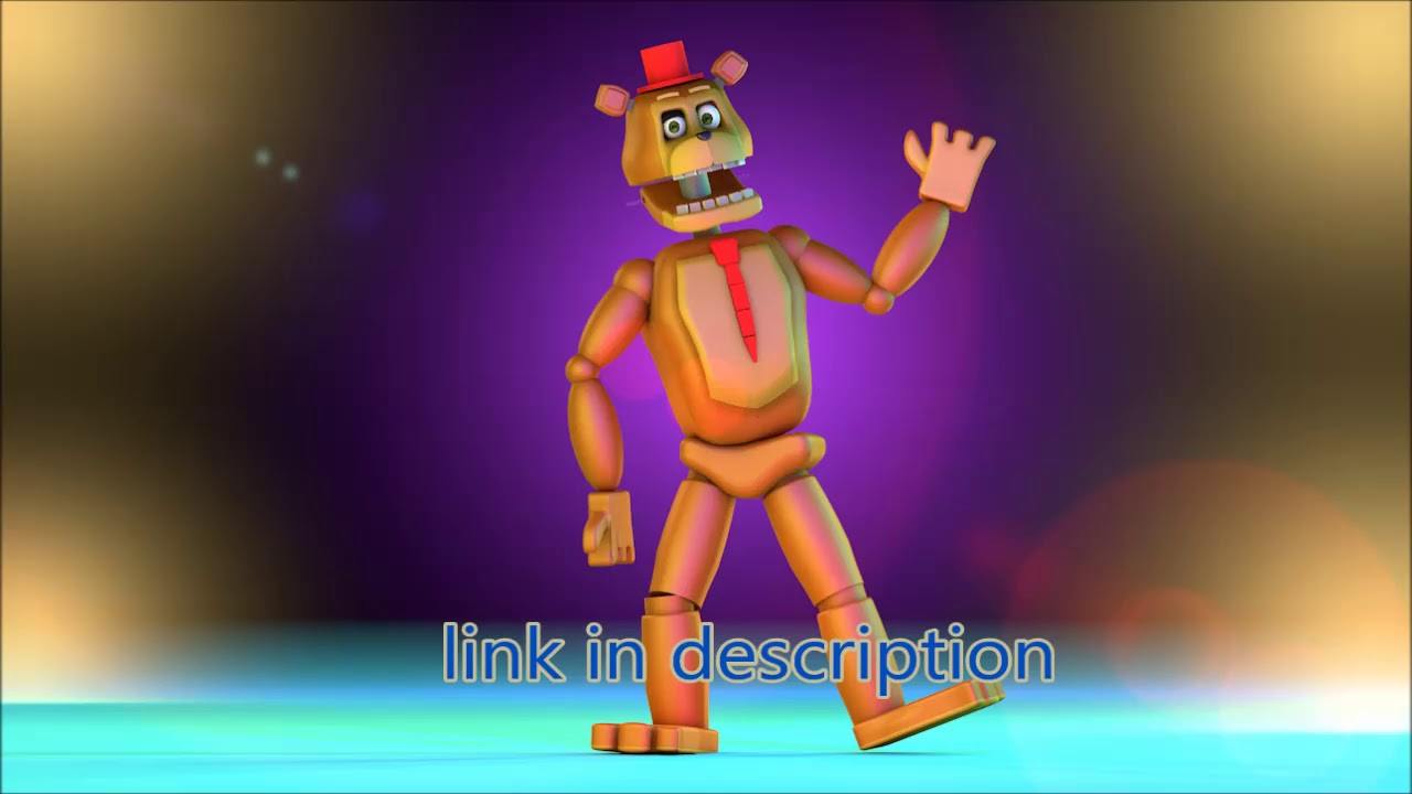 C4D-FNaF 6 NEDD BEAR MODEL BY ME DOWNLOAD V1 & V2