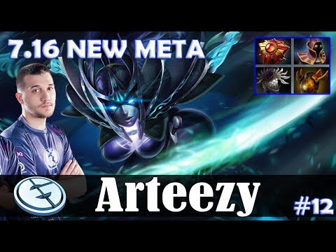 Arteezy - Phantom Assassin Safelane | 7.16 NEW META | Dota 2 Pro MMR Gameplay #12 thumbnail