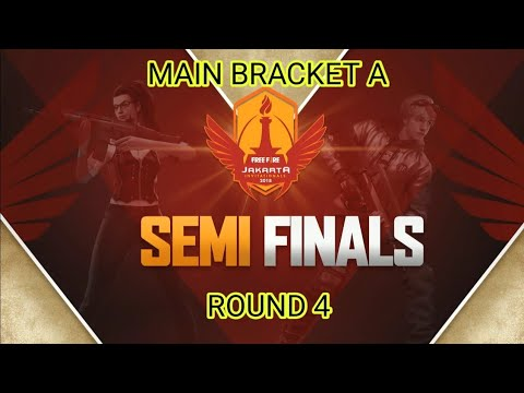 Jakarta Invitationals | Round 4 Main Bracket A | Semi Finals Garena Free Fire Indonesia