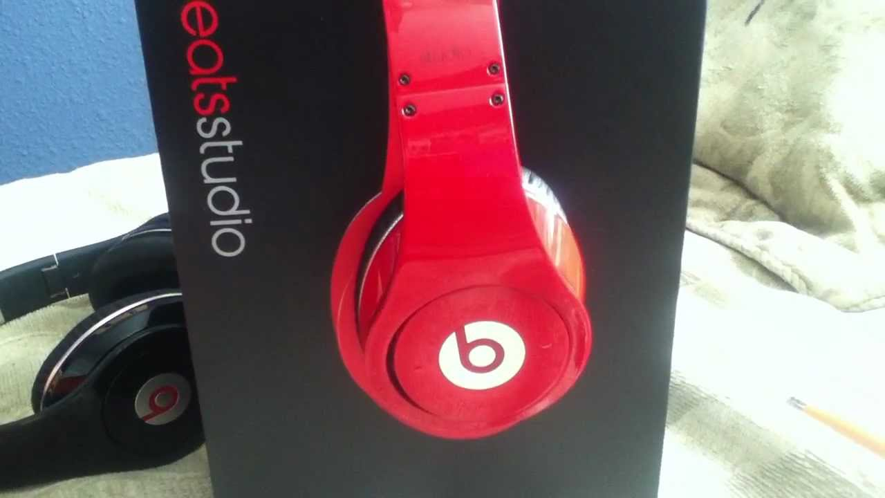 Fake Beats By Dre Studio Red