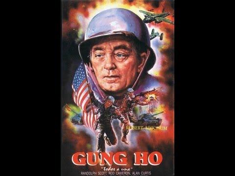 TODOS A UNA (GUN HO!, 1943, Full movie, Spanish, Cinetel)