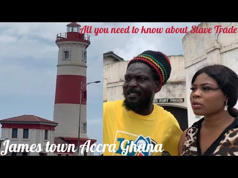 THE HISTORY BEHIND JAMESTOWN ACCRA | MOST PEOPLE IN JAMESTOWN ACCRA ARE FROM NIGERIA