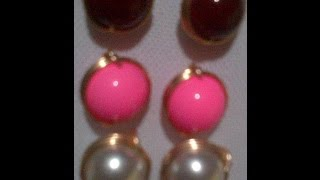 earrings  (bolas entorchada)