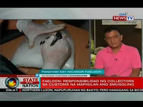 SONA: Panayam kay outgoing Customs Commissioner Nicanor Faeldon