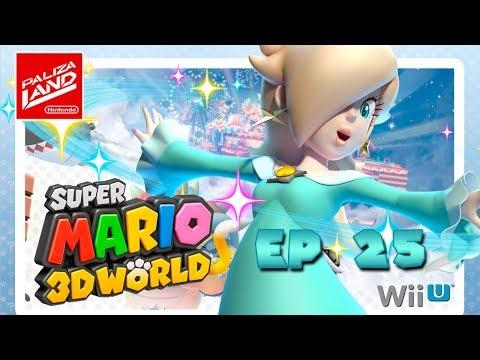 Super Mario 3D World - Como Desbloquear a Estela & Rosalina (EQUIPO MANCO)