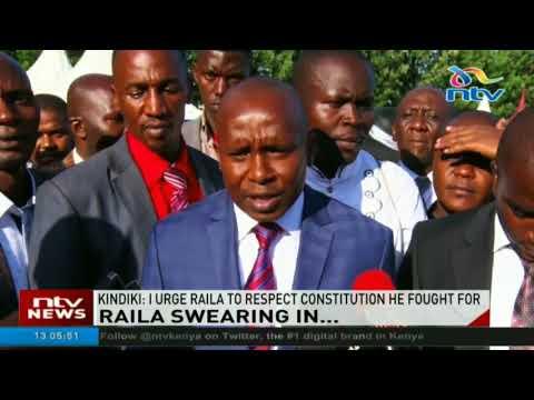 I urge Raila to respect constitution he fought for - Senator Kindiki