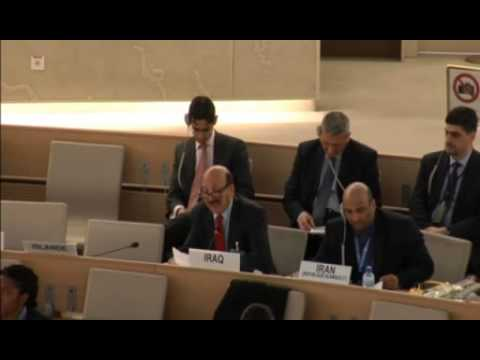 Right of Reply Iraq - ID SASG on the Prevention of Genocide 25th Session of the HRC 7 March 2014