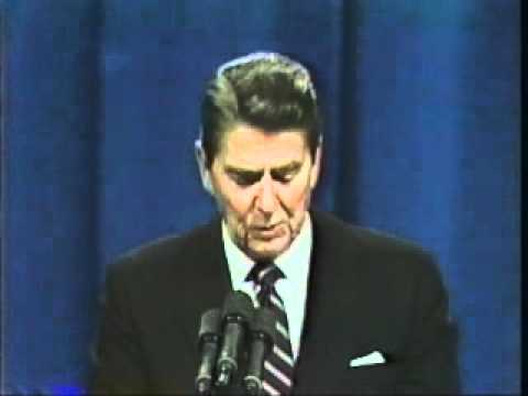 President Ronald  Reagan Beirut barracks bombing speech