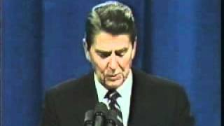 President Ronald  Reagan Beirut barracks bombing speech