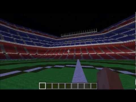 Minecraft - Camp nou à télécharger (Download)