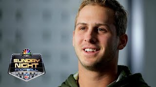 Jared Goff on how he feeds off Sean McVay's energy | NFL | NBC Sports