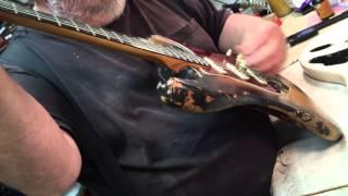 1963 ORIG Turtle Fender Stratocaster Eddie Vegas BEST!