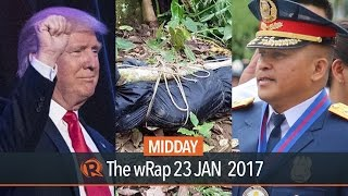 Duterte, AFP NPA clash, Trump   Midday wRap