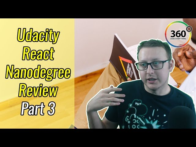 Why I Stopped Learning React | Udacity React NanoDegree