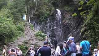 Отдых в Карпатах, Буковель, водопад Женец (Гук), 2 день