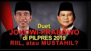 Kendala Dorongan Duet Jokowi Prabowo di Pilpres 2019 Full Update