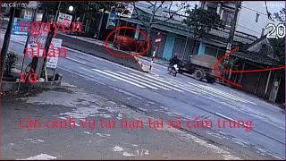 bằng chứng toàn cảnh vụ tai nạn thương tâm tại cẩm trung