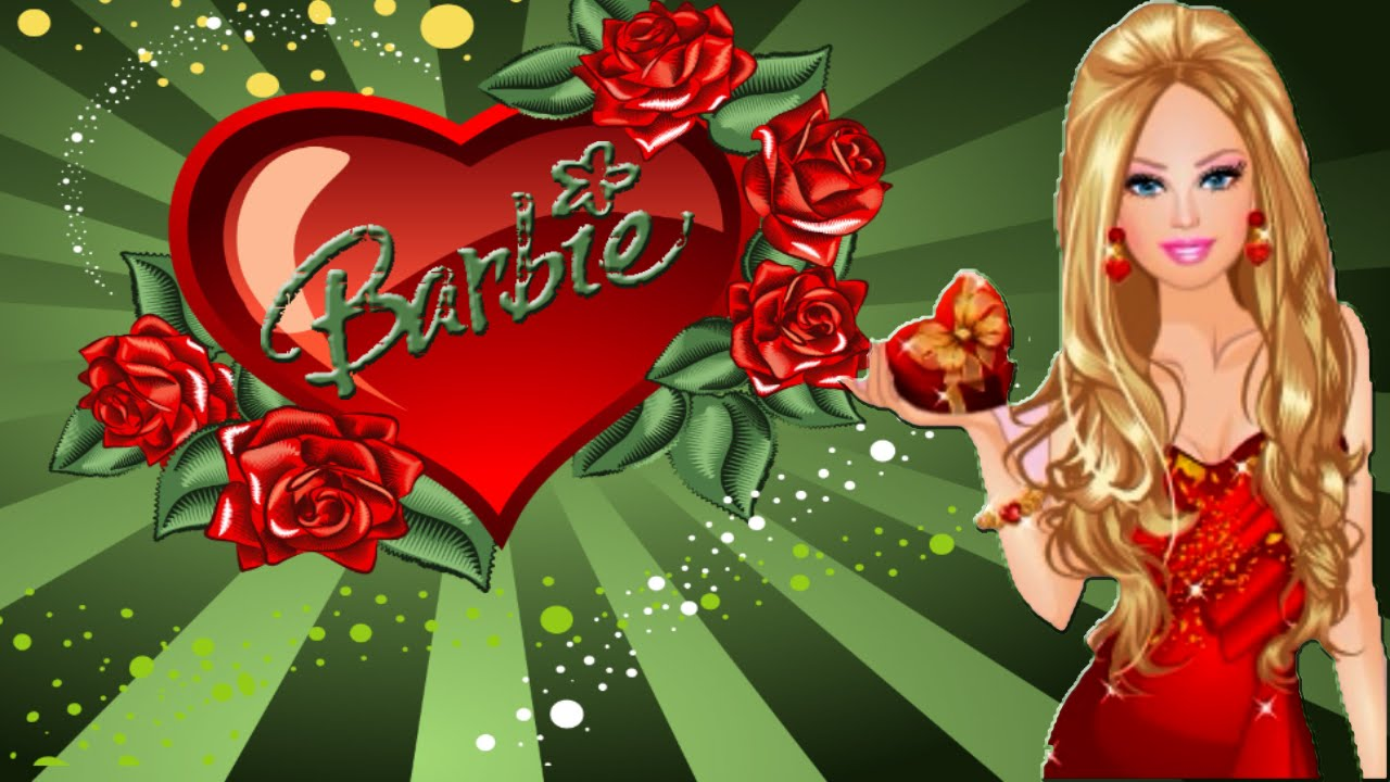 barbie valentine's day dress up game for girls - youtube, Ideas