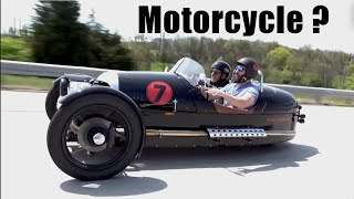 The Weirdest Motorcycle I ve ever Driven (Morgan Test Drive)