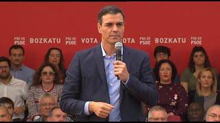"""Sánchez irá a los debates """"con guante blanco"""""""
