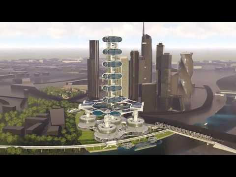 THE SMART MOSCOW TOWER, a new symbol to the City of Moscow. The SUPER GREEN BUILDING IS BORN.