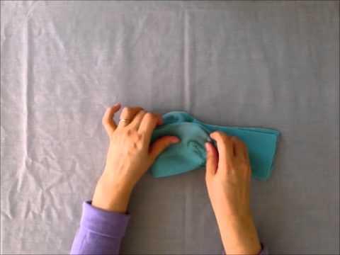 Как красиво сложить носки на подарок